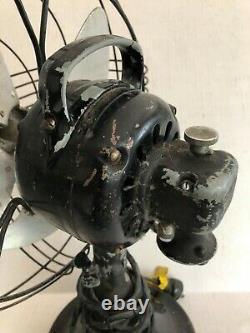 Ventilateur Électrique Général Antique Tilt/oscillation Ge Art Deco