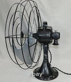 Ventilateur Vintage Ge General Electric Vornado. Oscillation 3 Vitesse. Vient D'être Retravaillé