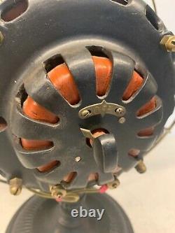 Vers 1900 Ventilateur De Bureau En Laiton Électrique Général Date De Brevet 1889 1900