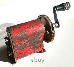 Vintage 1936 Hand Crank Magneto Electric Dynamo Generator