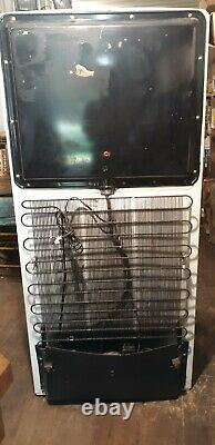 Vintage 1949 Ge General Electric Réfrigérateur Avec Congélateur, Fonctionne Toujours