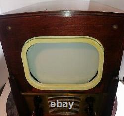 Vintage 1949 Ge Tube Television Model No. 806 Testé Bon Crt