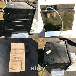 Vintage 1950 Ge General Electric Oven Turquoise /aqua Blue Built-in MCM