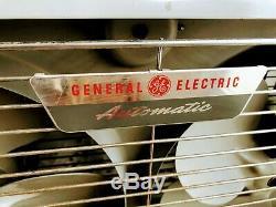 Vintage 1950 General Electric Automatique Double Ventilateur