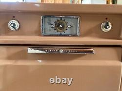 Vintage 1950s General Electric Wall Four Brown