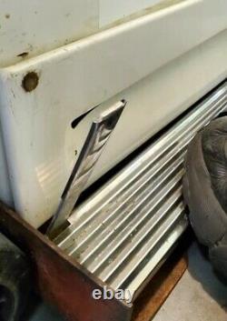 Vintage 1956 Ge Général Réfrigérateur Électrique Congélateur Lazy Susan Modèle Lm11n H1