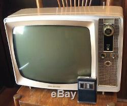 Vintage 1960 Ge Designer Tv Predicta General Electric A Distance Television Rare
