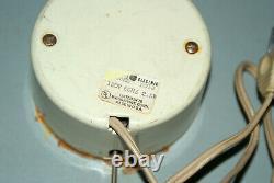 Vintage 1960 Ge General Electric Ge Wall Clock 14 Modèle # 2012 Unique