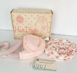 Vintage 60s Australian General Electric Pink Sèche-cheveux Boîte D'origine