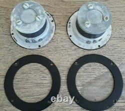 Vintage Ampex Bullet Tweeters Haut-parleurs Paire General Electric G-504 Ge