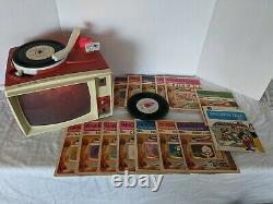 Vintage Années 1960 General Electric Show N Tell Phono Viewer Avec Des Tonnes D'histoires 14