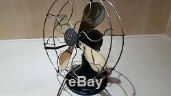 Vintage / Art Antique Déco General Electric Company (gec) Ventilateur De Bureau