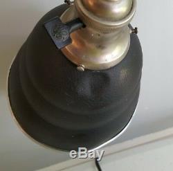 Vintage Art Déco General Electric Lampe De Bureau Industriel Steampunk