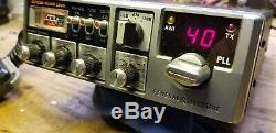 Vintage Cb Radio General Electric 3-5825a 80 Ssb 40am Ch