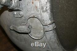 Vintage Copper Industrial Novalux Projecteur Projecteur Par General Electric