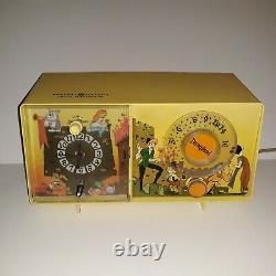 Vintage Disneyland Clock Radio General Electric Yellow Works Ge Disney