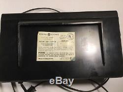 Vintage Ge Am / Fm Digimatic Flip Clock Alarm, Radio 7-4310 F. D'excellents Travaux