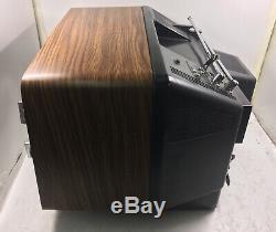 Vintage Ge General Electric 10 Moniteur Crt Couleur Tabletop Tv