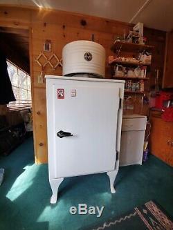 Vintage Ge General Electric Moniteur Haut Réfrigérateur Bon État De Fonctionnement