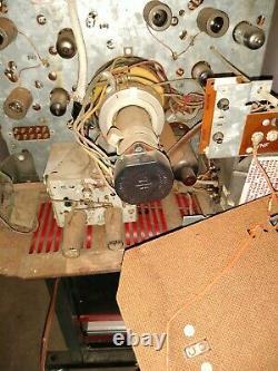 Vintage Ge General Electric Portable 12 Tv Tv Réveil Rare 2 Ton