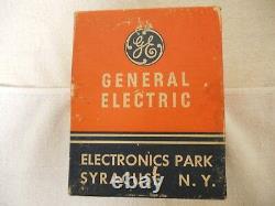Vintage Ge General Electric Tube Preamp Nos Phono