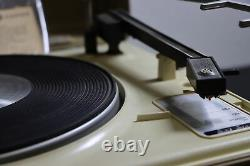 Vintage Ge General Electric V639h Portable Phonographe Phonographes Swingmate