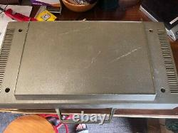 Vintage Ge General Electric Wildcat Portable Record Player Pliage
