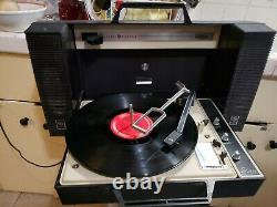 Vintage Ge General Electric Wildcat Record Player Working