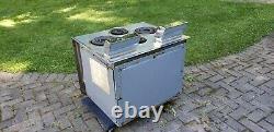 Vintage Ge Général Électrique MID Century Modern MCM Cuisinière En Acier Hot Point Oven