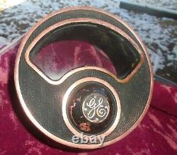 Vintage Ge Industriel Volt Meter Steampunk Jauge General Electric 7