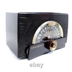 Vintage Ge Modèle Atomic 440 Vacuum Tube Radio Am-fm 1951 General Electric