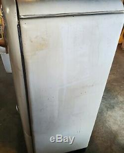 Vintage Ge Réfrigérateur Électrique Congélateur Général, Tous D'origine, Fonctionne Très Bien
