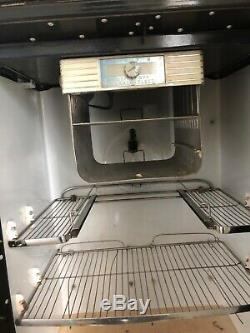 Vintage Ge Réfrigérateur Électrique Général Avec Congélateur, Fonctionne Toujours