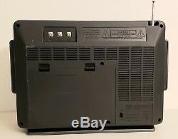 Vintage Gegeneral Électrique 7-2990a6 Bande Radioshort Ondes 1-4 Am Fm