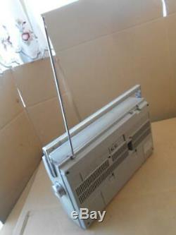 Vintage General Electric 3-5286a Boombox Lecteur / Enregistreur Cassette / Radio