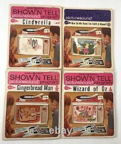 Vintage General Electric Afficher N Dites Phono Viewer Avec 10 Histoires 60 Lire
