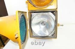 Vintage General Electric Automatique Signal De Circulation Lumière À La Maison Décor Garage Street