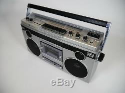 Vintage General Electric Boombox 3-5256a Cassette Stéréo Am / Fm