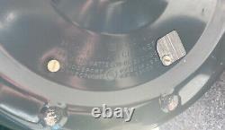 Vintage General Electric Canister Vacuum Model V13c1 Made In USA Cloth Bag Works
