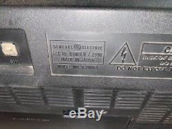 Vintage General Electric Ge 7-2990a 6 Band Radio Ondes Courtes 1-4 Am Fm