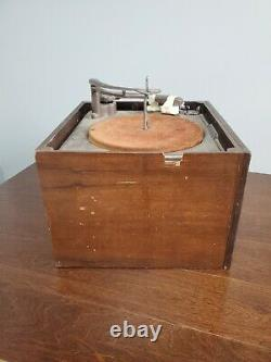 Vintage General Electric Ge Modèle 14 Record Player Phonograph Turntable 1946