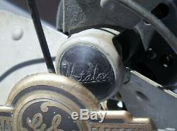 Vintage General Electric Ge Oscillant Vortalex Fan 3 Blade