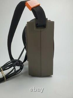 Vintage General Electric Ge Portable 8 Track Player Modèle No 3-5505f Lot