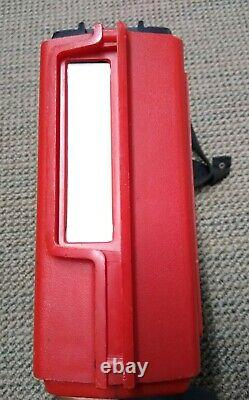 Vintage General Electric Ge Portable 8 Track Player Sing Along Power Sound Red