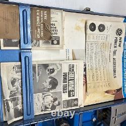 Vintage General Electric Ge Portable Power Tool Kit 3 Outils En Un
