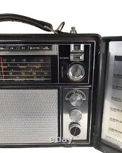 Vintage General Electric Ge World Monitor Radio P2900a Fm Am Fonctions À Ondes Courtes