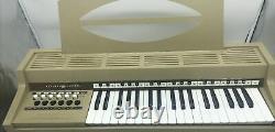 Vintage General Electric Ge Youth Electronics Chord Organ No. N3805 Œuvres Beige