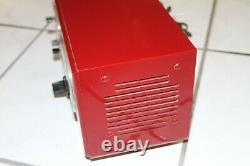 Vintage General Electric Model 565 Clock Radio Bakelite Ne Fonctionne Pas, Polka Dots