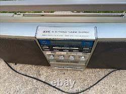 Vintage General Electric Performance Speaker System Boombox Modèle No 3-6035b