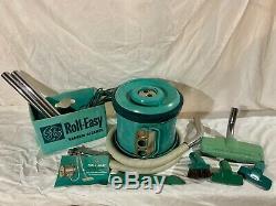 Vintage General Electric Rouleau Facile Aspirateur